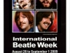Flyer International Beatle Week, augustus 2009