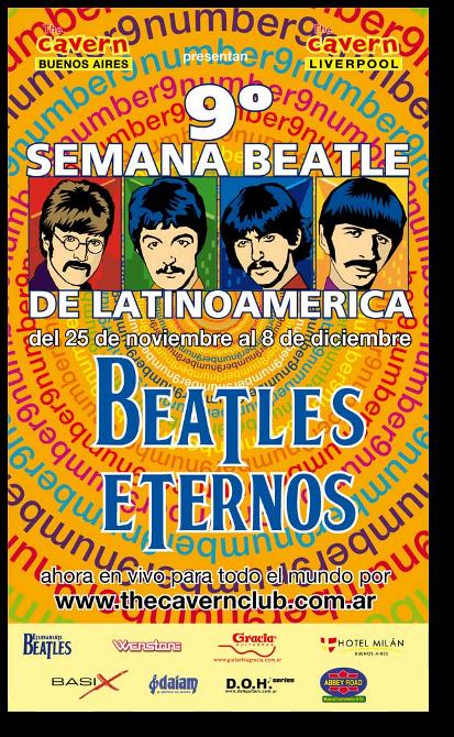 2009 'Semana Beatle de LatinoAmerica' Poster