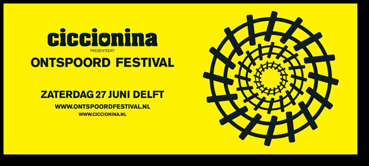 2009 'Ontspoord Festival' Banner