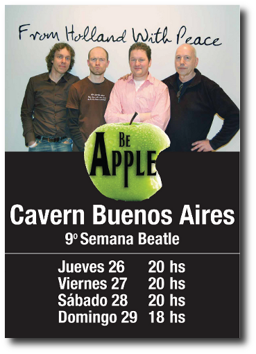 2009 'Buenos Aires Tour' Poster