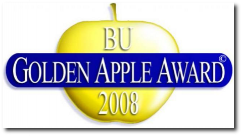 2008 'Golden Apple Award' Logo